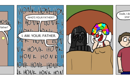 Clowns: Because everything honks